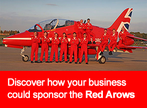 SPonsor the Red Arrows at WNAS16