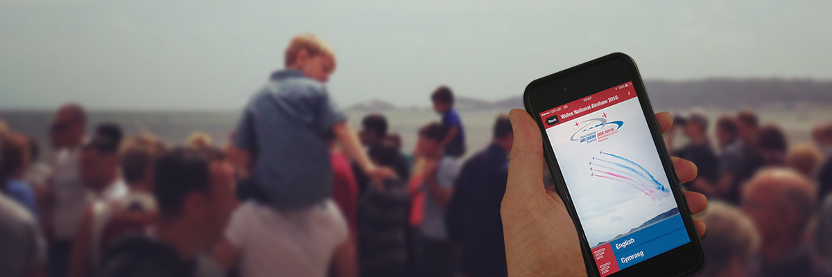 The Wales National Airshow APP - Coming Soon!