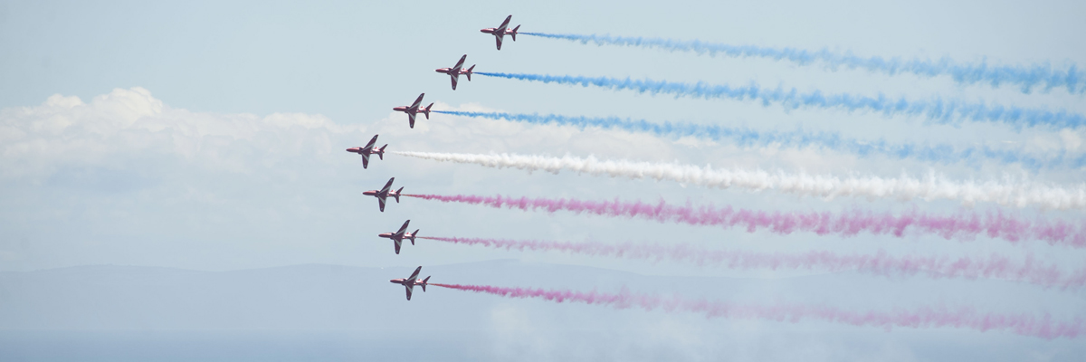 Red Arrows confirmed for both days of WAS17!