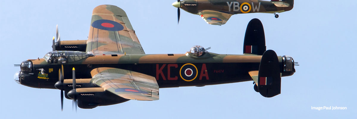 Battle of Britain Memorial Flight – Confirmed!