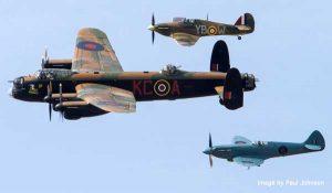Battle of Britain Memorial Flight - Swansea Bay