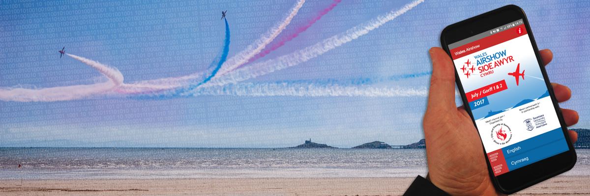 Get your virtual programme for Wales Airshow