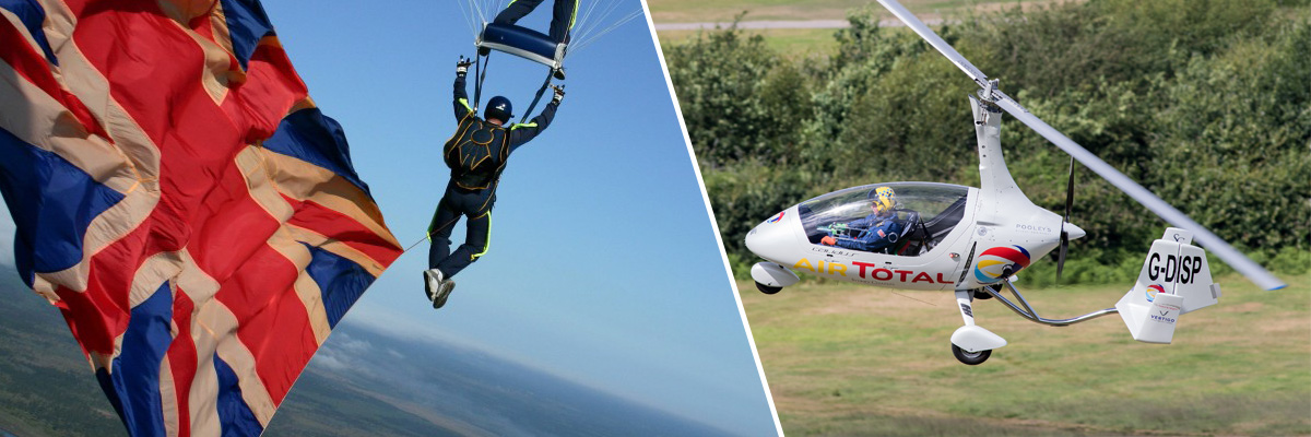 Gyro Air Displays & Tigers parachute display team confirmed!