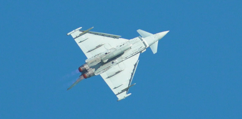 Typhoon begins the line-up for 2018 - Wales Airshow