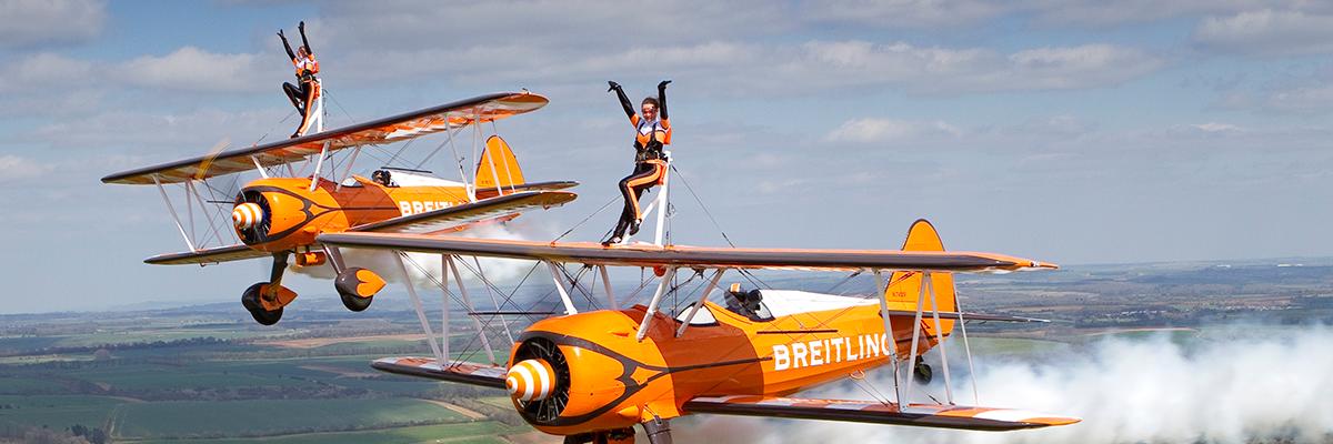 Aerosuperbatics Wing Walkers confirmed for 2018!