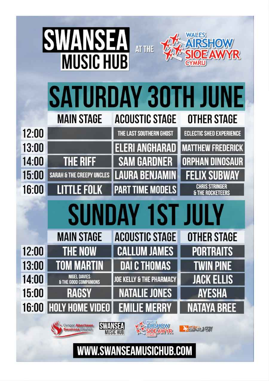 Swansea Music Hub - at the Wales Airshow
