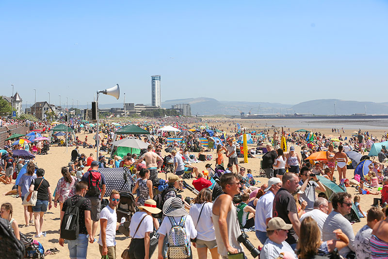 Packed Beach